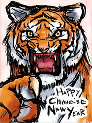 The Tiger Said... by Cessa