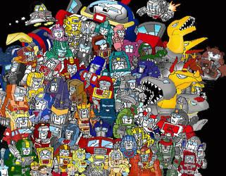so many autobots