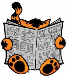 el gato newspaper icon