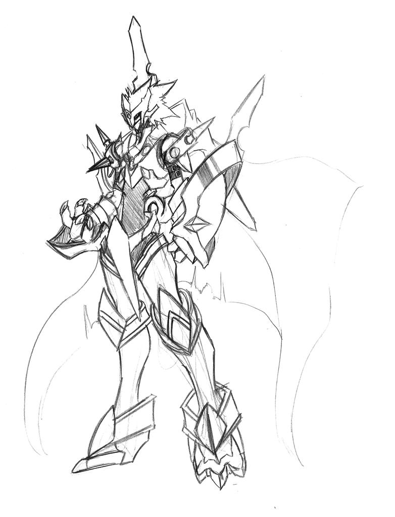 The Fallen Knight Digimon By Kaizer33226 On Deviantart