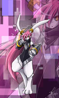 Knightusagimon by kaizer33226
