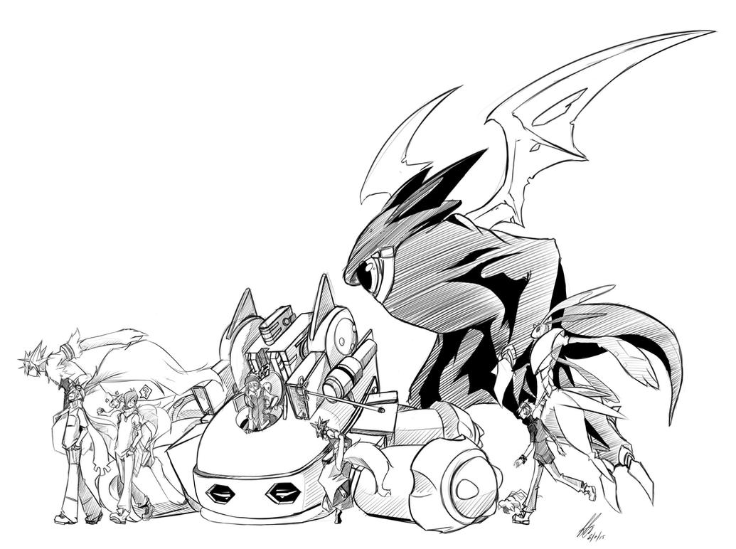 Main Digimon OC's by kaizer33226