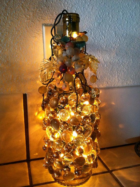 Decorative Lighted Wine Bottles by Jeremyzombie ...
