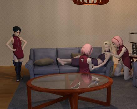 An Overbearing Aunt 03 - Ino x Sakura