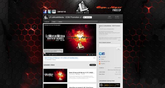 LeMusikMedia Youtube Background