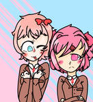 Sayori And Natsuki
