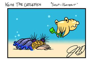 Keith the Cuttlefish 17 - Self Portrait