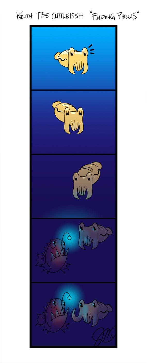 Keith the Cuttlefish 23 - Meet Phillis by key-0