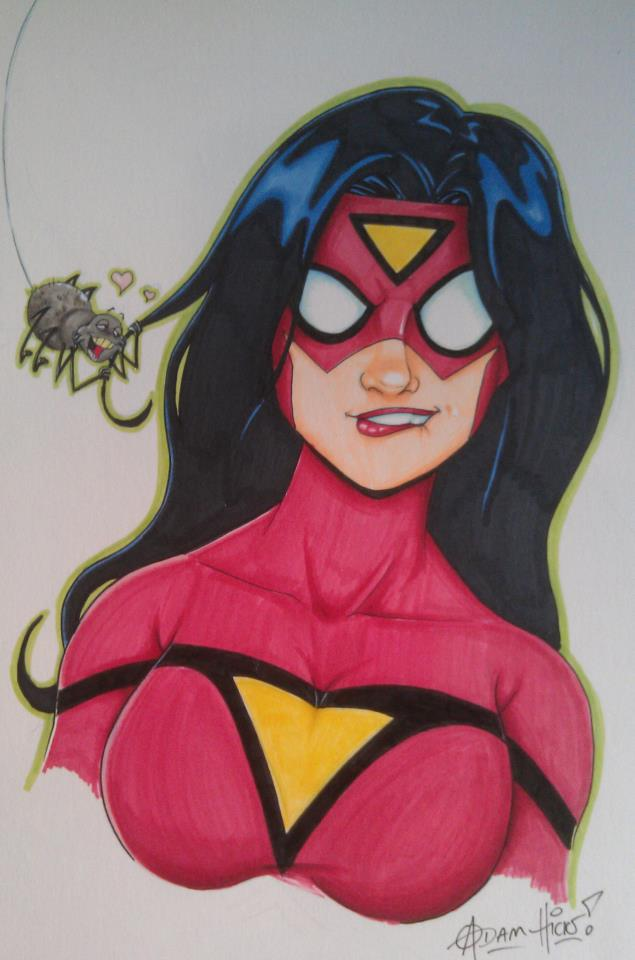 Spiderwoman by Gigatoast