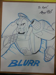 Blurr Commission by Gigatoast