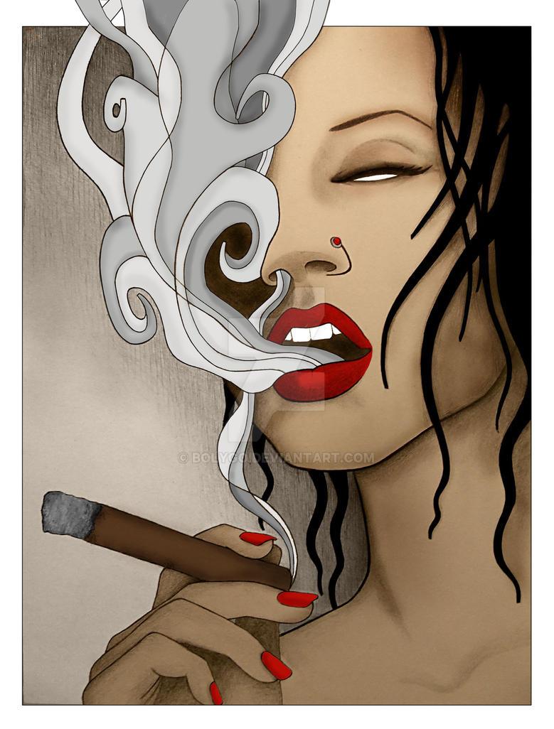 cigar baby2 by Bolygo