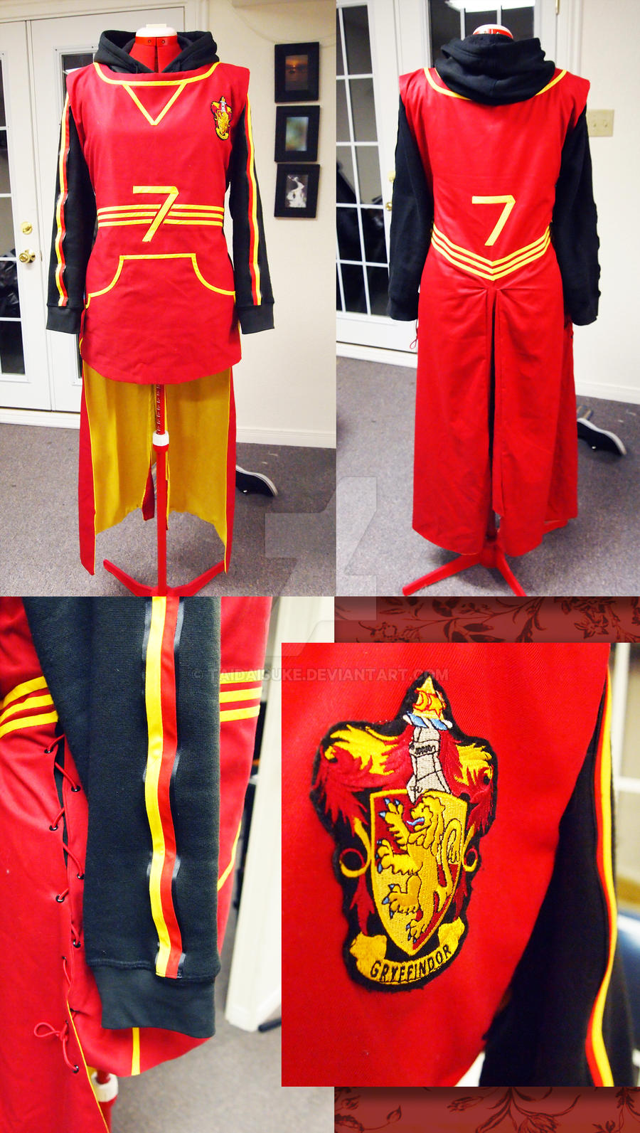 Quidditch Uniform Better Pics By Taidaisuke On Deviantart