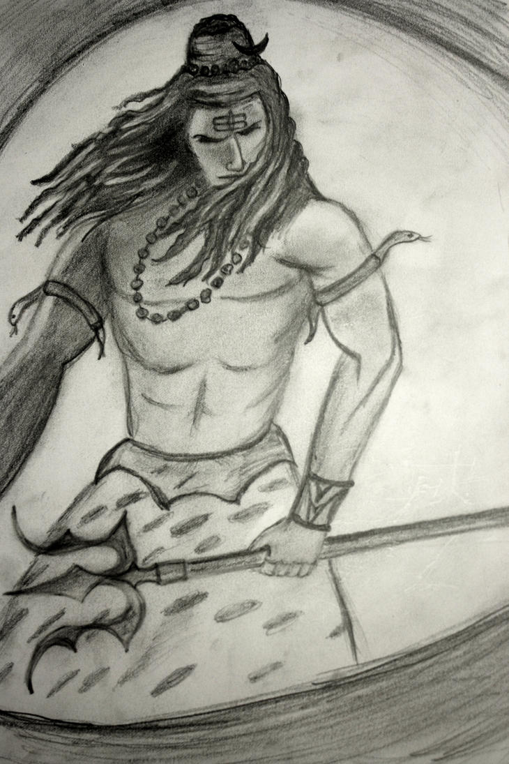 Lord Shiva Angry Lord shiva angry by bhaskyboy