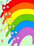 Rainbow Kitty Magic