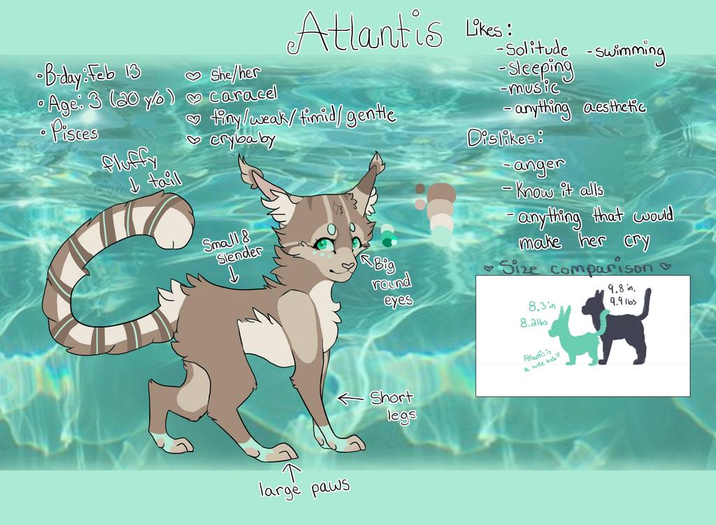 Atlantis OC ref by Bubbli-Tea