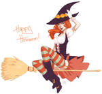 paintchat. halloween witch