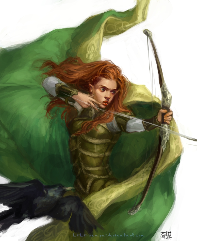 Dungeons and Dragons. Sharon by kiikii-sempai