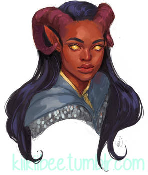commission. tiefling