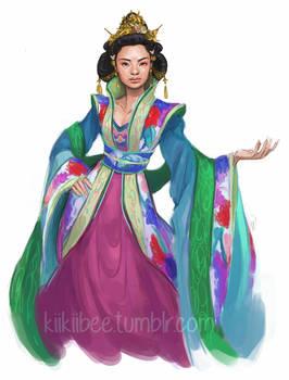 commission. Empress Tsubame by kiikii-sempai