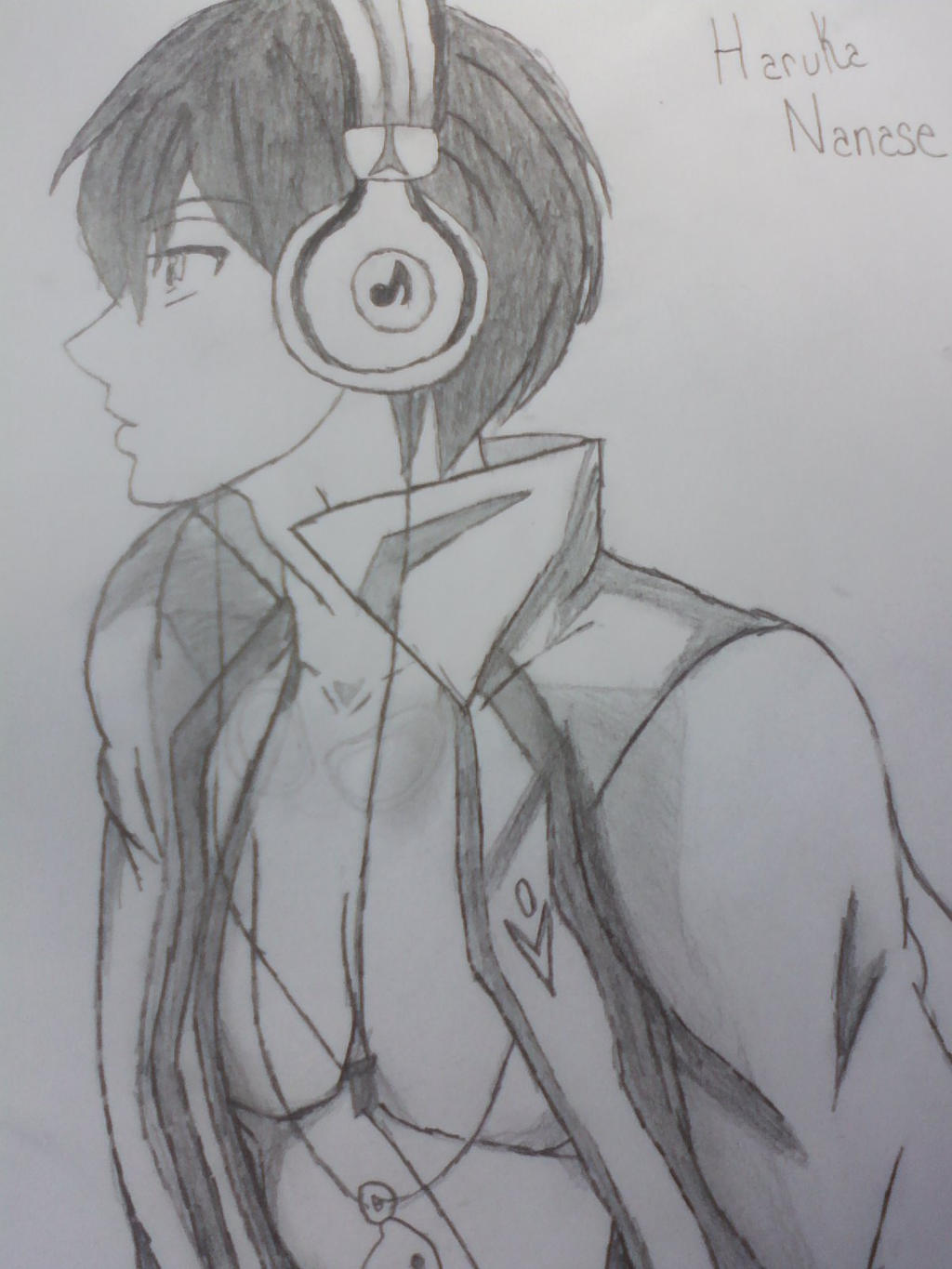 My Drawing Of Haruka Nanase From Free By Lizdragneel On