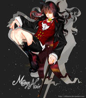 Mirage Noir Hawthorn Gender Bender by chizu-baga