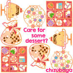 Enamel Pin Desserts!