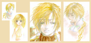 Ean colored sketches XD