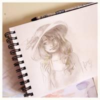 Pencil sketch by Ernestgirl