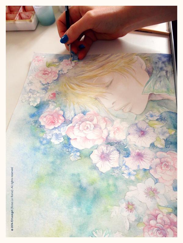 Ernest - Flowers :3 by Ernestgirl