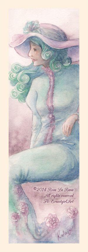 La Donna Cancellata - Bookmark by Ernestgirl