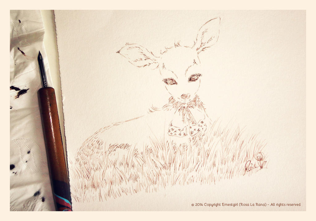 Little fawn female by Ernestgirl