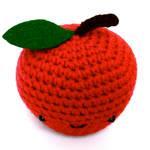 Crochet Amigurumi Red Apple
