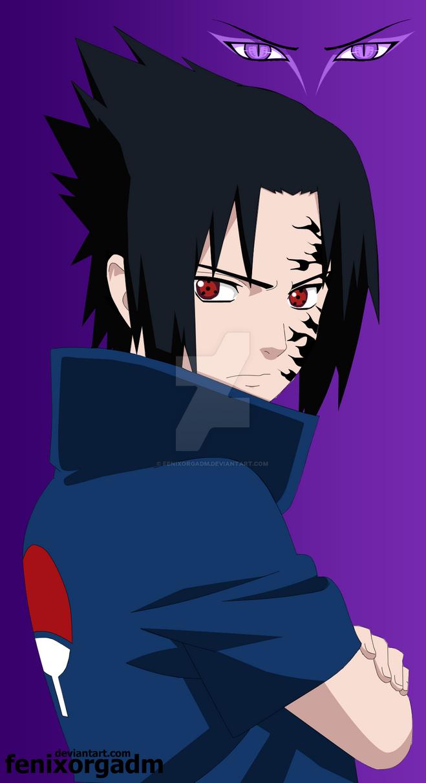 sasuke uchiha curse mark by fenixorgadm on deviantart