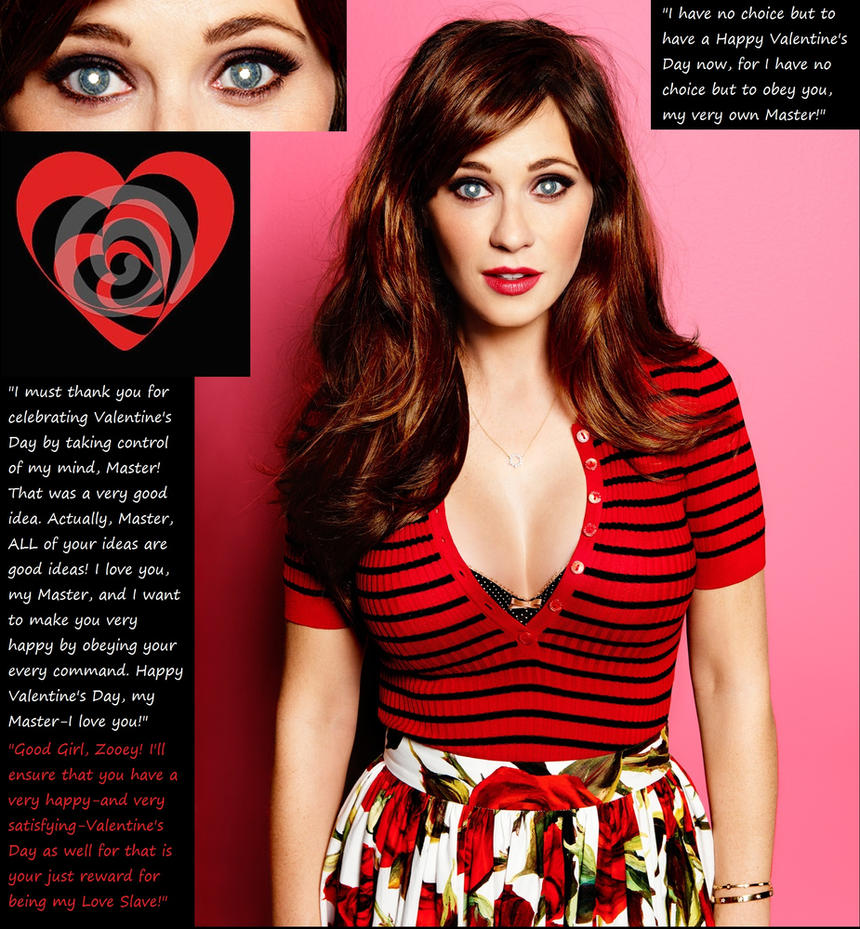 Hypno Valentines Day Zooey Deschanel By HypnoHunter On