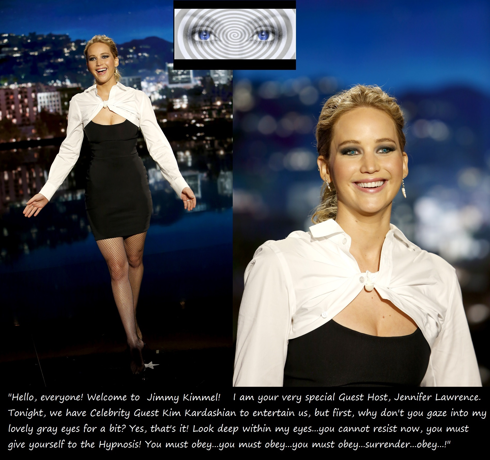 Jennifer Lawrence: The Hypnotic Guest Host! (5) by ...
