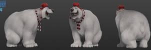 Niagara's Fury : Polar Bear by ShaunAbsher