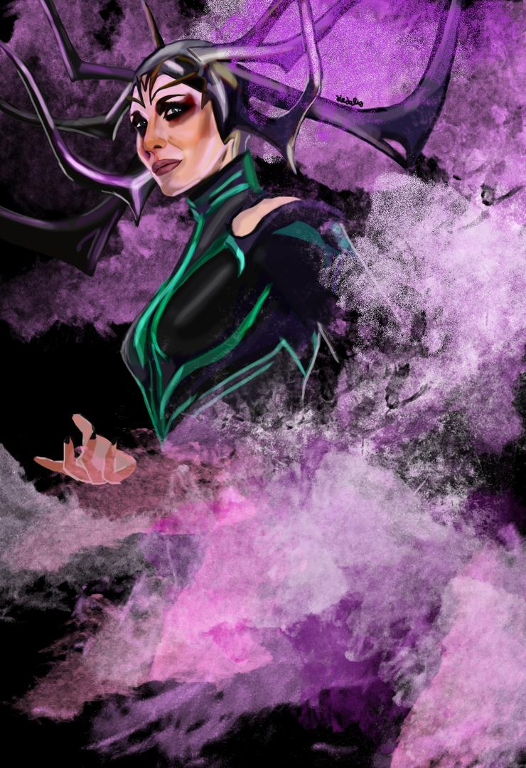 Hela by fullcolour-canvas