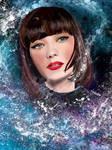 Space Princess by fullcolour-canvas