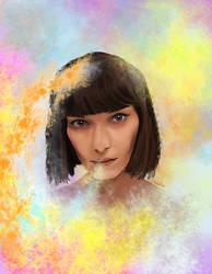 Aurora by fullcolour-canvas