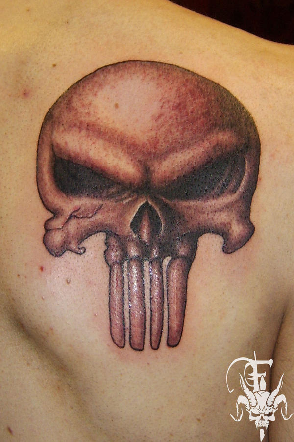 punisher skull by drksoul666 on DeviantArt