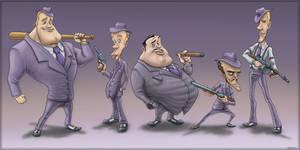 gangsters by krsgarcia