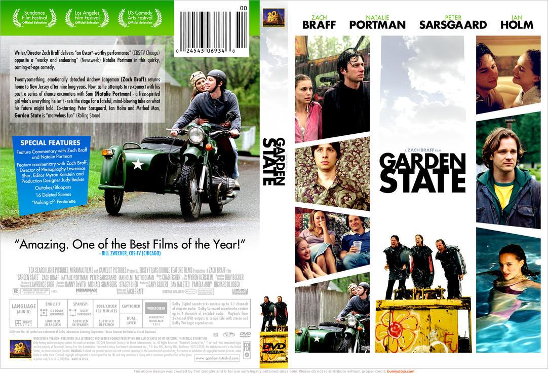 Garden State Dvd By Bunnydojo On Deviantart