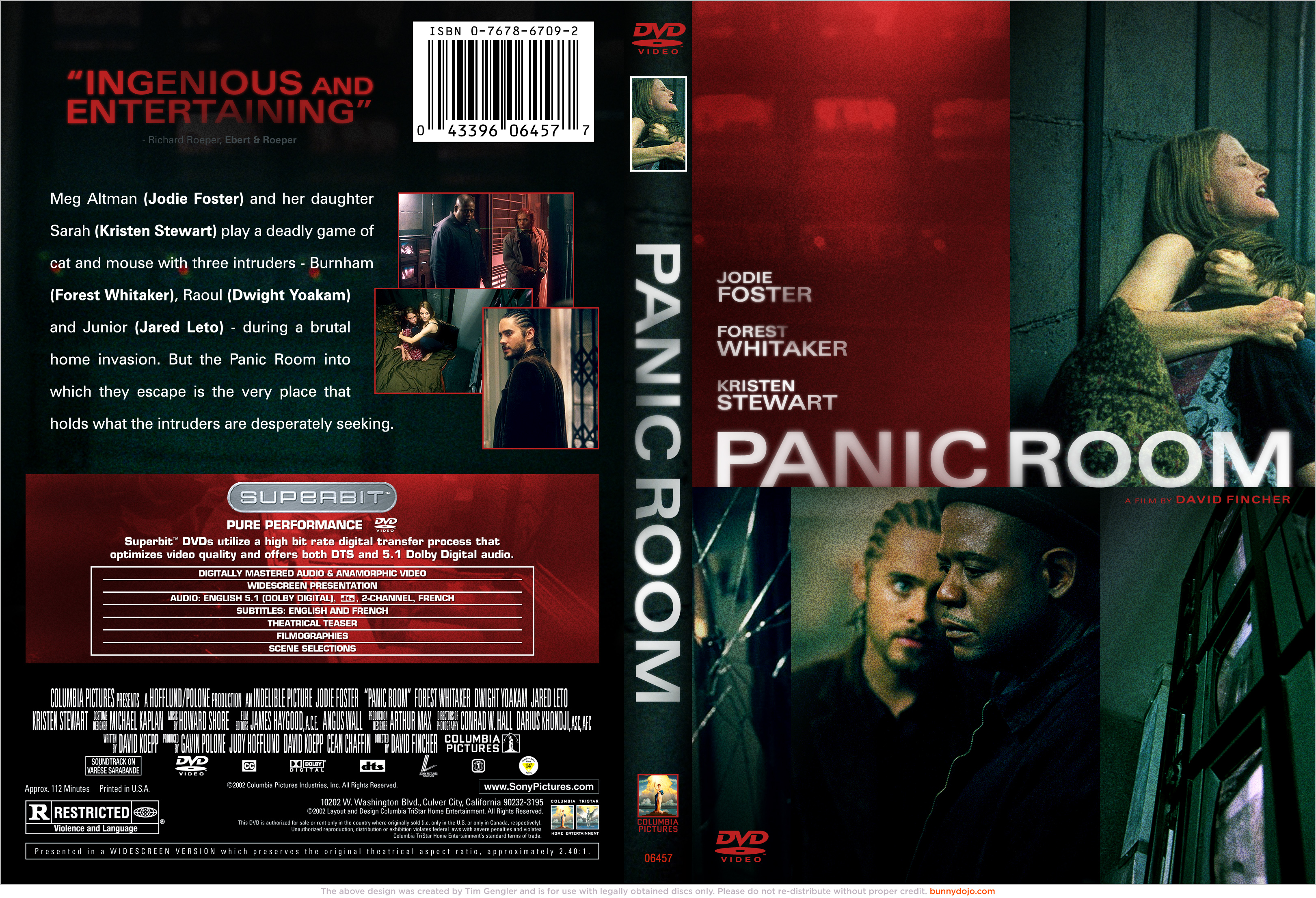 Panic Room 2002 Photos Of Jodie Foster Panic Room Dvd By