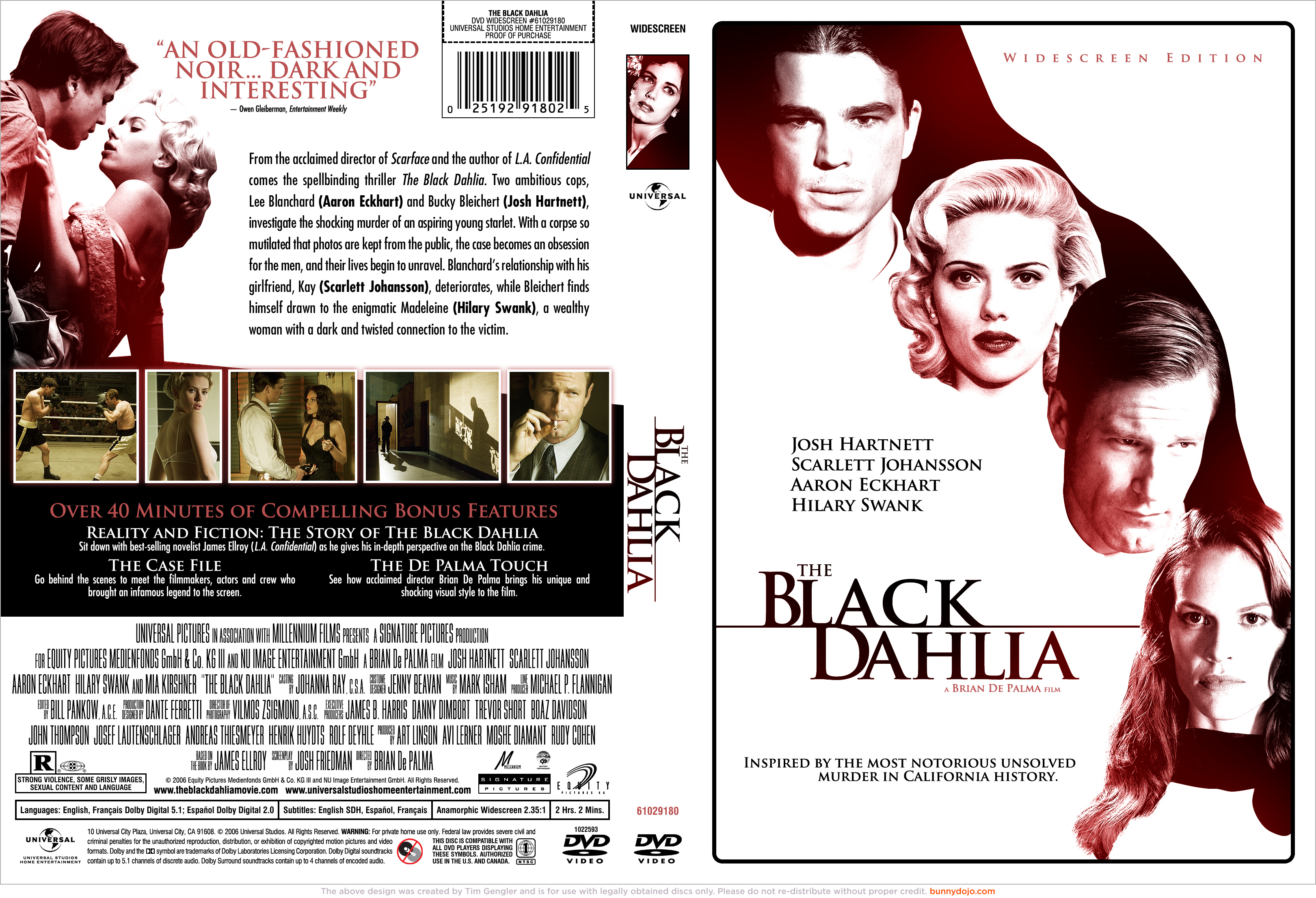 argumentative analysis the black dahlia