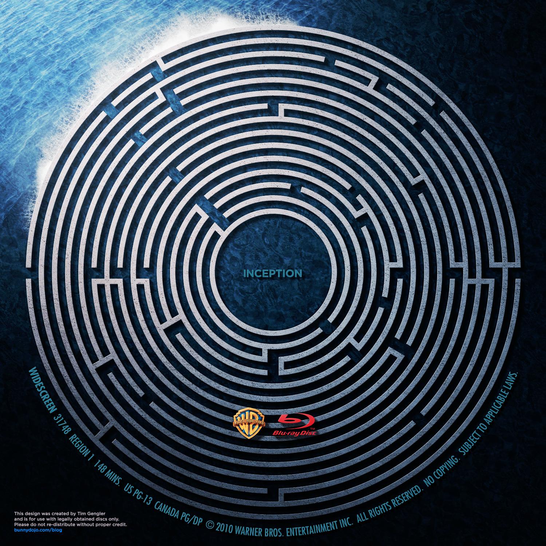 Inception Wallpaper: Blu-ray Label By BunnyDojo On DeviantArt