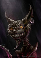 Cheshire Cat - Alice in madness return Fan art