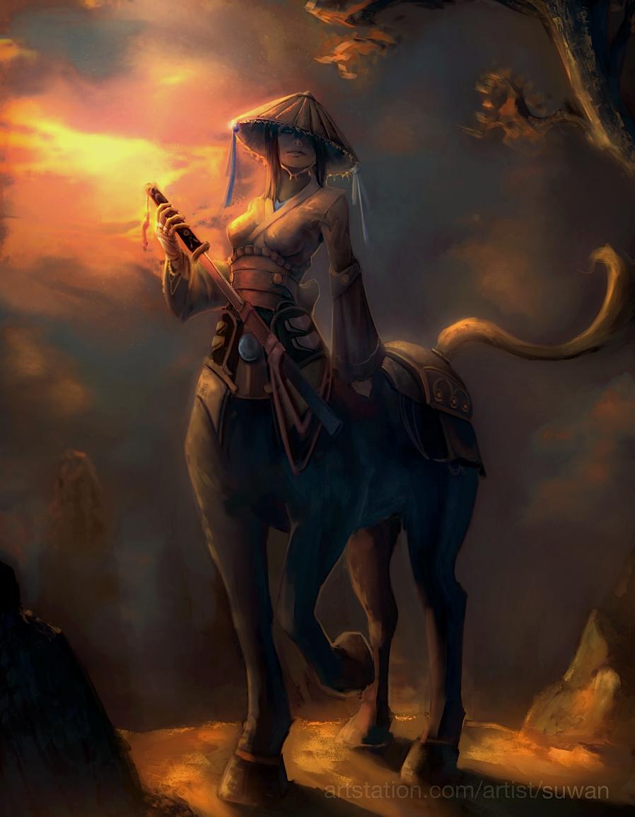Character - Samurai Centaur