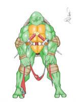 Mr. Attitude Colored by SketchMonsta