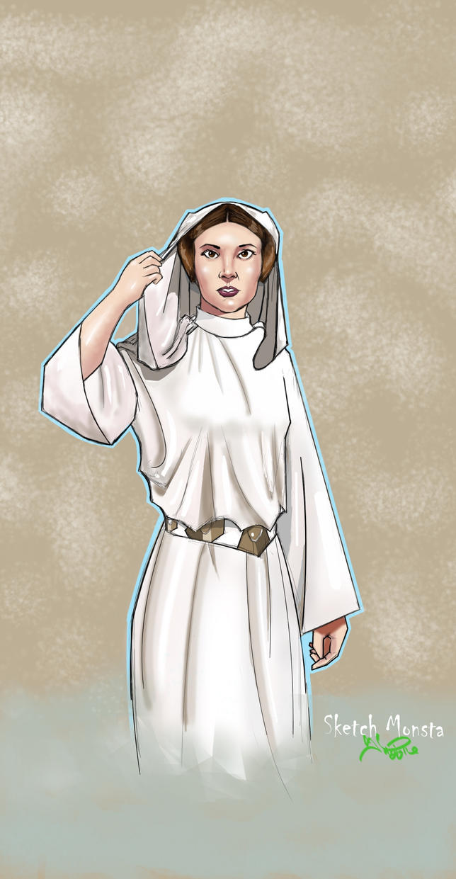 Leia Finished by SketchMonsta