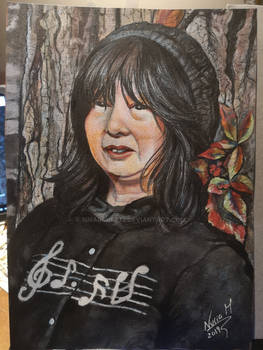 Keiko Nagita's portrait (Kioko Mizuki)